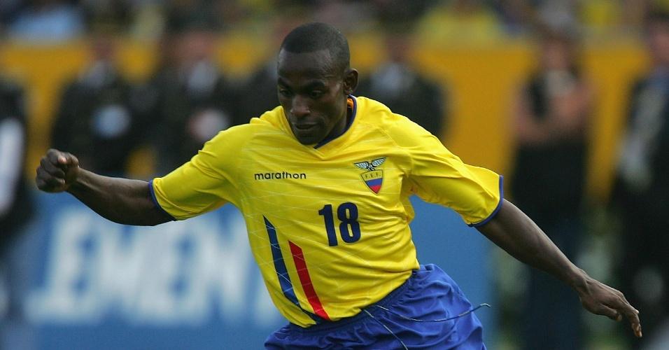 Reasco, equatoriano que jogou pelo São Paulo