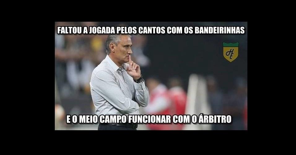 Corinthians perde para o Cerro Porteño e internautas não perdoam