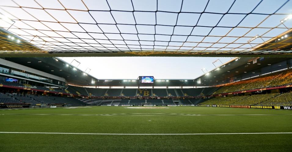 Stade de Suisse, antigo estádio Wankdorf, em Berna (Suíça)