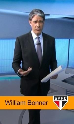 William Bonner (Rede Globo): Sâo Paulo