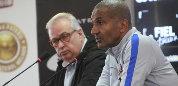 Roberto de Andrade decidiu pela saída de Cristóvão Borges - ANTÔNIO CÍCERO/FRAMEPHOTO/FRAMEPHOTO/ESTADÃO CONTEÚDO