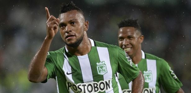 Borja virou alvo de interesse do Palmeiras  - RAUL ARBOLEDA/AFP