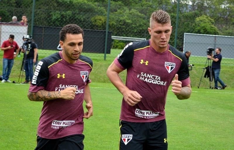 Wellington Nem faz primeiro treinamento pelo São Paulo