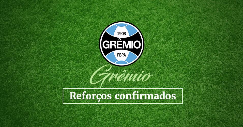 Abre de Grêmio para Álbum do Mercado da Bola