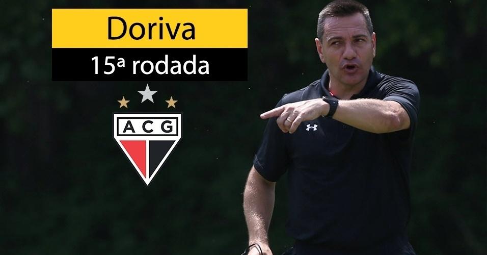Doriva foi demitido do Atlético-GO após goleada sofrida contra o Sport