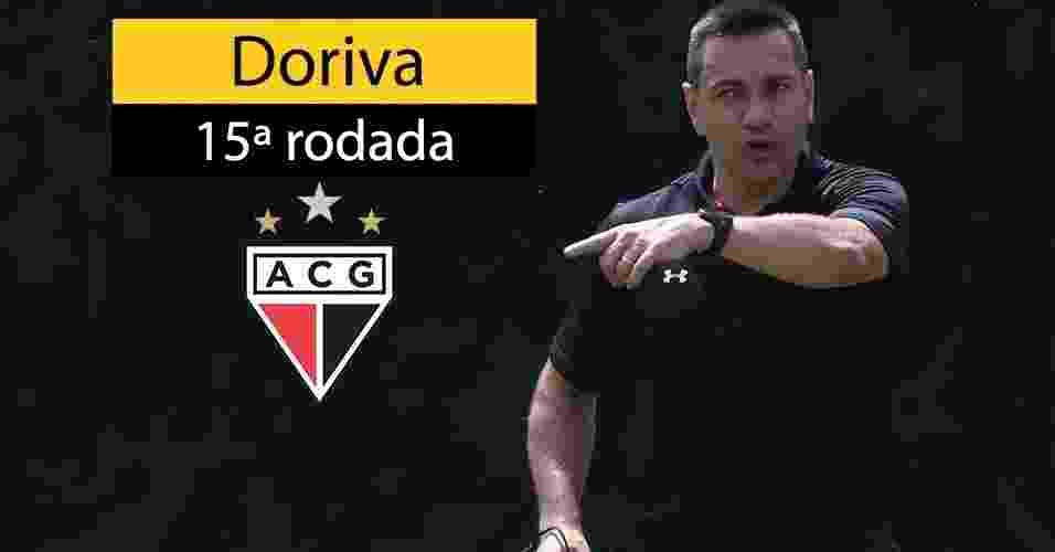 Doriva foi demitido do Atlético-GO após goleada sofrida contra o Sport - Rivaldo Gomes/Folhapress