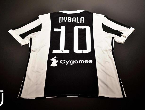 Dybala trocou a camisa 21 pela 10 na Juventus