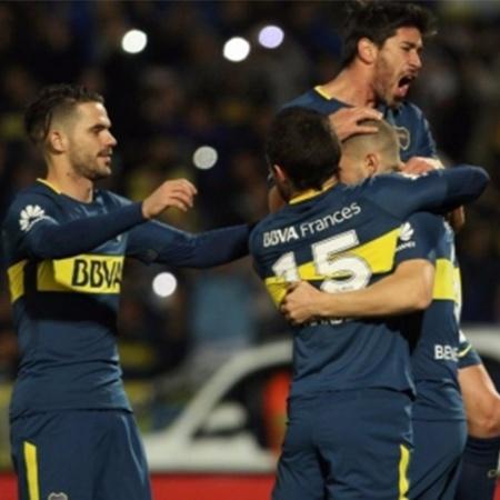 Boca Juniors comemora vitória na Copa da Argentina