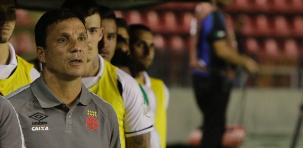 O técnico Zé Ricardo disse que a ansiedade acabou prejudicando a equipe