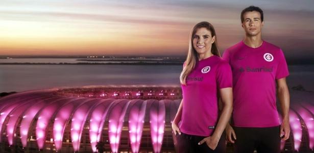 Internacional lança camisa rosa em campanha de combate ao câncer