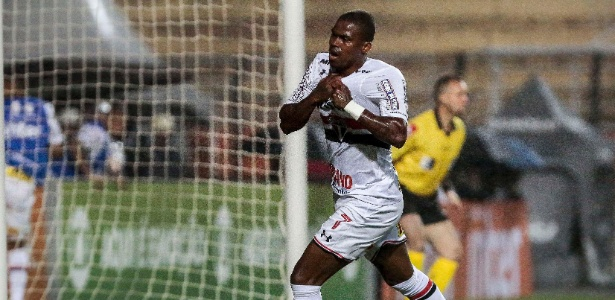 Maicosuel tem contrato com o São Paulo até 2020 e está fora dos planos no Morumbi