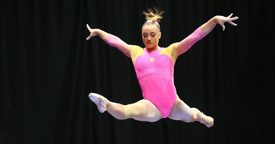 A ginasta norte-americana Maggie Nichols