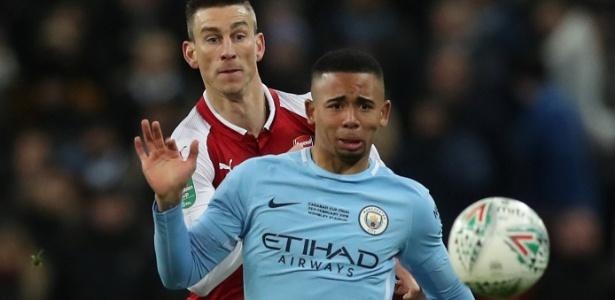 Gabriel Jesus retornou ao gramado no último domingo (25) em partida contra o Arsenal