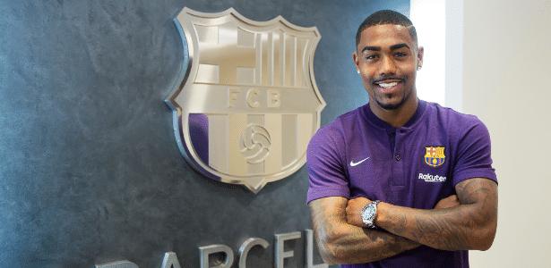 Malcom foi anunciado pelo Barcelona na última semana - Victor Salgado/FC Barcelona