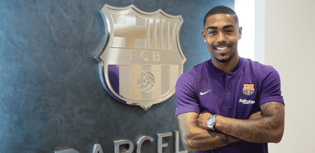 Malcom recentemente foi incorporado como reforço do Barcelona - Victor Salgado/FC Barcelona
