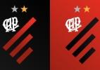 Atlético-PR lança em setembro nova identidade visual; veja esboço do escudo - Reprodução