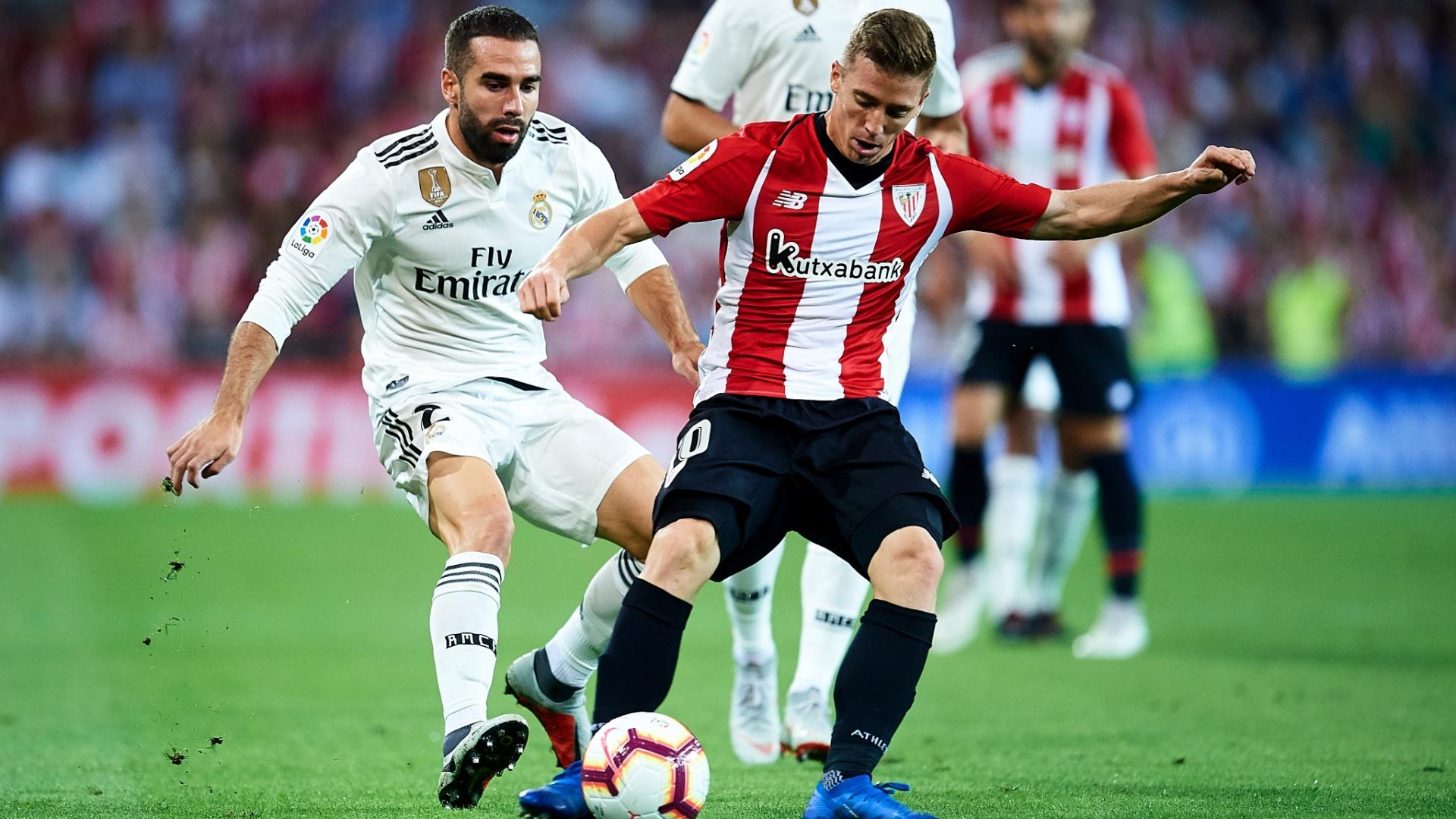 Muniain, autor do gol do Bilbao contra o Real Madrid