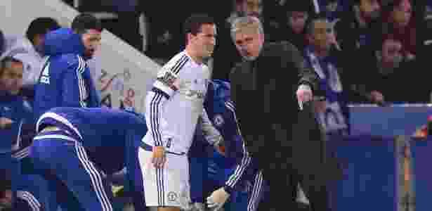 Hazard e Mourinho - Michael Regan/Getty Images - Michael Regan/Getty Images