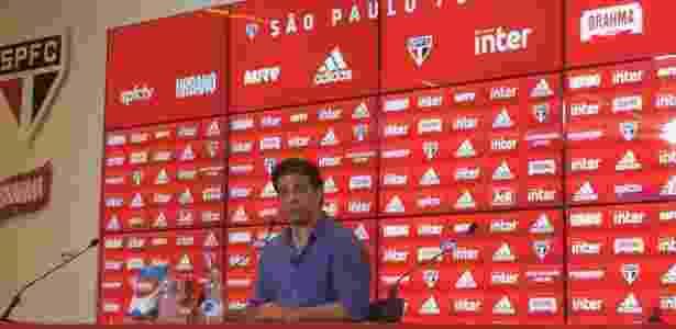 Raí concedeu entrevista nesta segunda-feira e falou sobre a saída de Aguirre no SP - José Eduardo Martins/UOL
