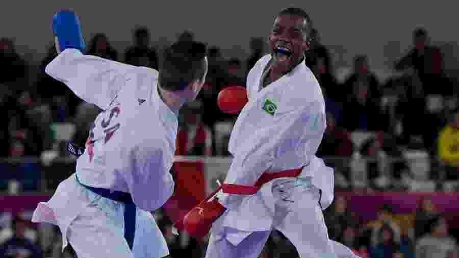 Hernani Veríssimo foi derrotado pelo norte-americano Thomas Scott na categoria até 75kg - Washington Alves/COB