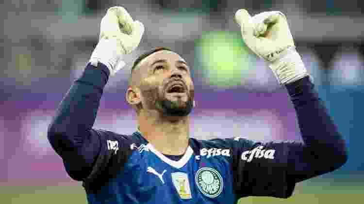 Weverton Palmeiras - Marcelo Alvarenga/AGIF - Marcelo Alvarenga/AGIF