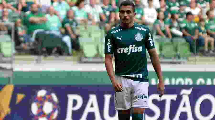 Luan Silva em ação pelo Palmeiras em jogo disputado no começo de março - Bruno Ulivieri/Agif