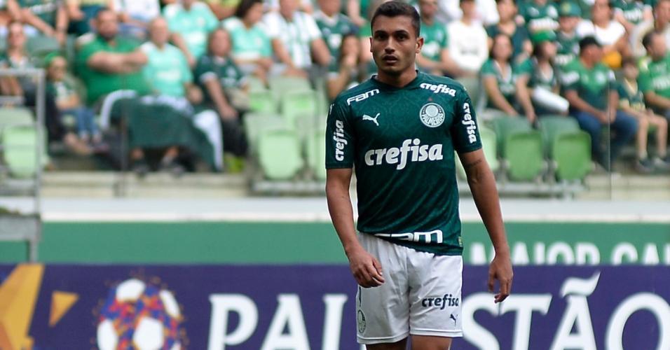 Luan Silva recebeu a oportunidade de ser titular do Palmeiras, mas deixou o jogo lesionado ainda no primeiro tempo