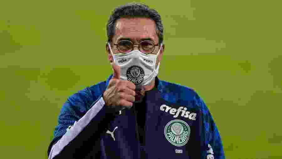 Vanderlei Luxemburgo diz que Palmeiras criou para vencer o jogo contra o Fluminense - Thiago Riberio/AGIF