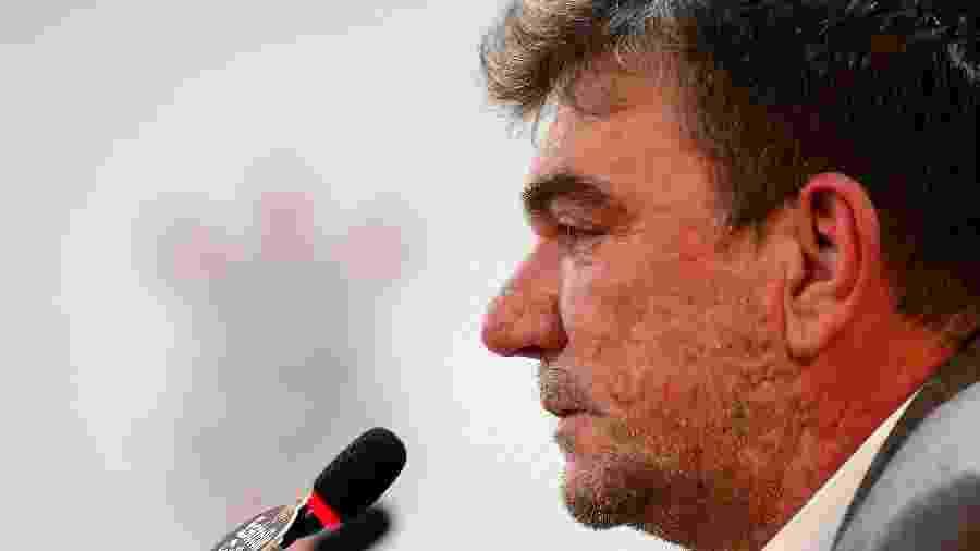 Andrés Sanchez, que se licenciou do cargo de presidente neste mês, dispara contra seu-aliado, Mário Gobbi - Daniel Vorley/AGIF