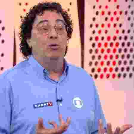 Casagrande diz que Corinthians deve se preocupar apenas em fugir do rebaixamento - Reprodução/Globo