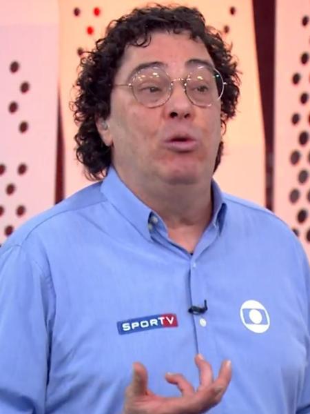 Casagrande, comentarista da Globo - Reprodução/Globo