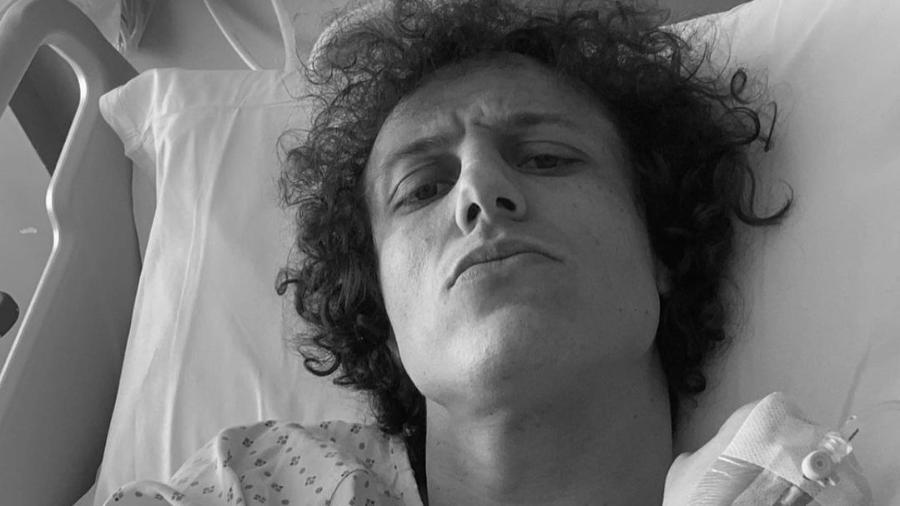 """David Luiz comemora sucesso de cirurgia no joelho: """"Voltarei mais forte"""" - Instagram"""