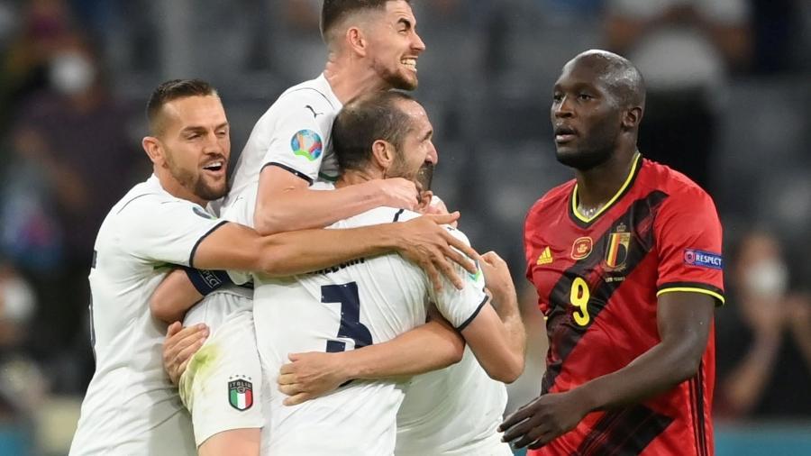 Itália vence a Bélgica e garante vaga nas semifinais da Eurocopa - Pool via REUTERS