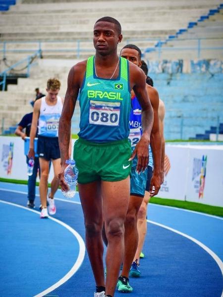 Thiago Rosário, atleta brasileiro dos 800m que está nos Jogos Olímpicos de Tóquio - Reprodução/Instagram