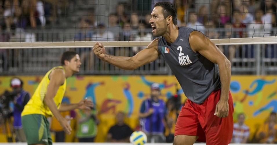 Juan Virgen, mexicano do vôlei de praia