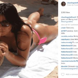 Claudia Gadelha - próxima desafiante ao cinturão peso palha - também tem um lado vaidoso - Reprodução/Instagram