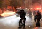 Polícia e torcedores entram em conflito antes de Atlético-PR x Flamengo
