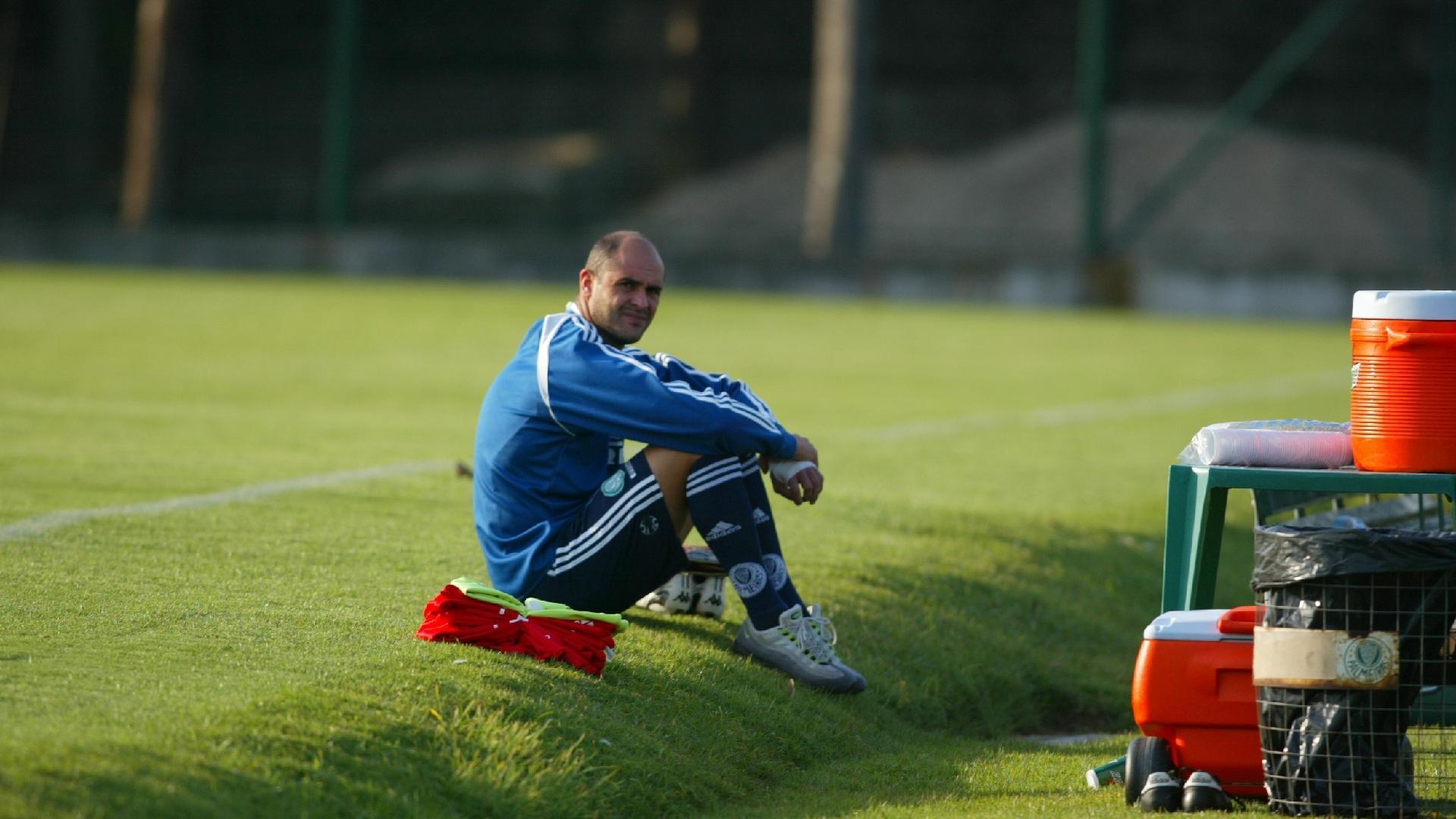 Marcos em treino do Palmeiras em 2006