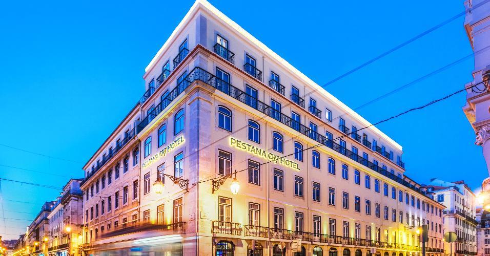 Uma das unidades do hotel que leva o nome do craque português fica na capital do país Lisboa