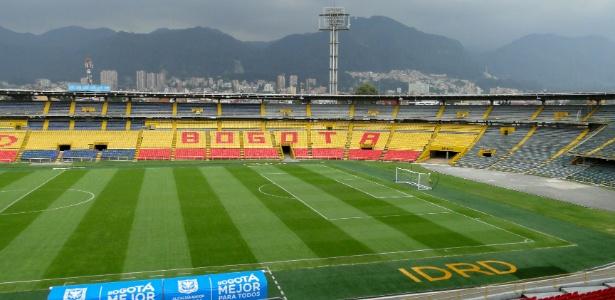 Estádio El Campín, na Colômbia