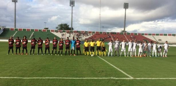 Flu de Feira de Santana venceu em casa por 5 a 0, com dois gols de Jailson - Flamengodearcoverde/Facebook