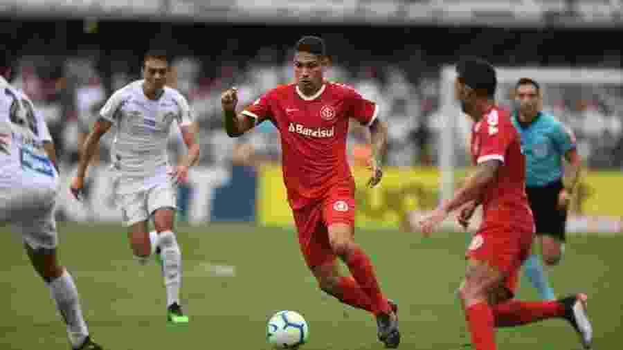 Inter e Santos jogam nesta quinta-feira, em Porto Alegre, pelo Campeonato Brasileiro - Ricardo Duarte/Internacional