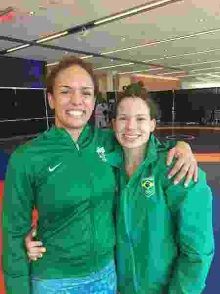 Aline Silva e Lais Nunes, classificadas a Tóquio - Divulgação