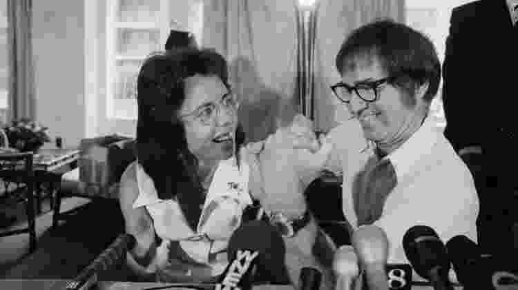 Billie Jean King e Bobby Riggs - Wikimedia Commons - Wikimedia Commons