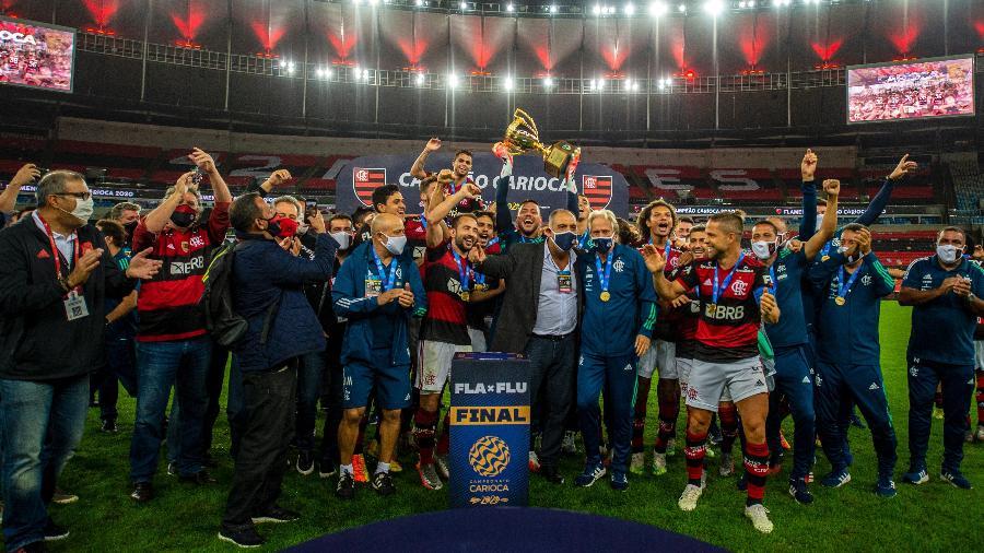 Flamengo foi o campeão do Campeonato Carioca 2020 - Marcelo Cortes/Flamengo