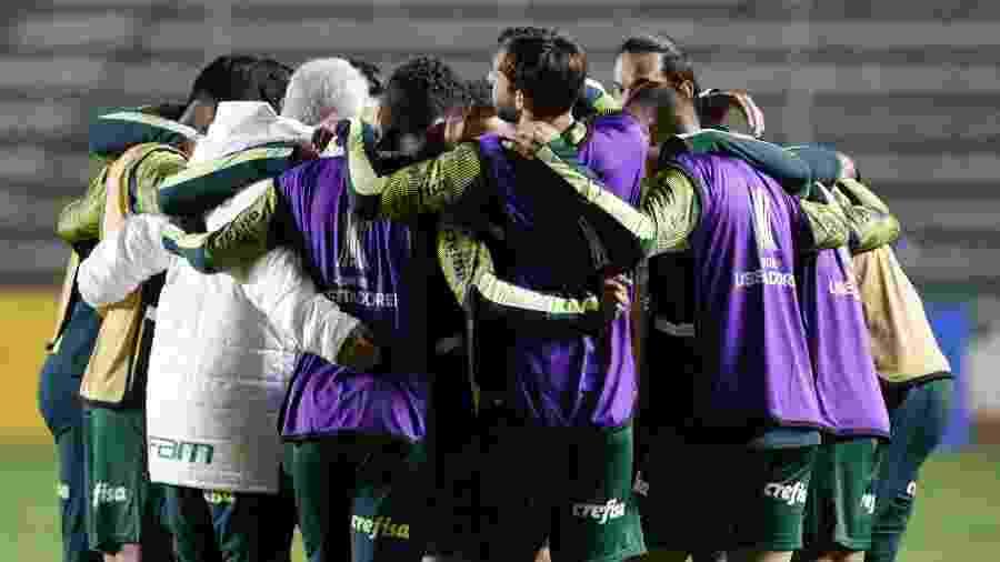 Jogadores do Palmeiras receberam folga depois de vencer o Bolívar - David Mercado - Pool/Getty Images