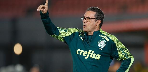 Luxa elogia o Palmeiras e reclama: