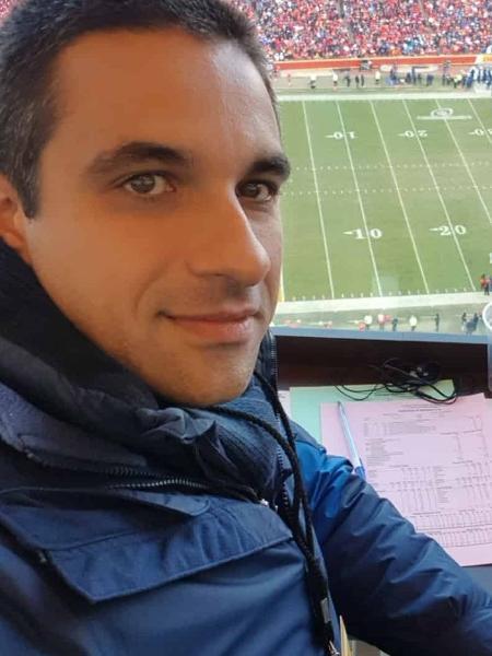 Fernando Nardini, narrador dos canais ESPN - Acervo pessoal