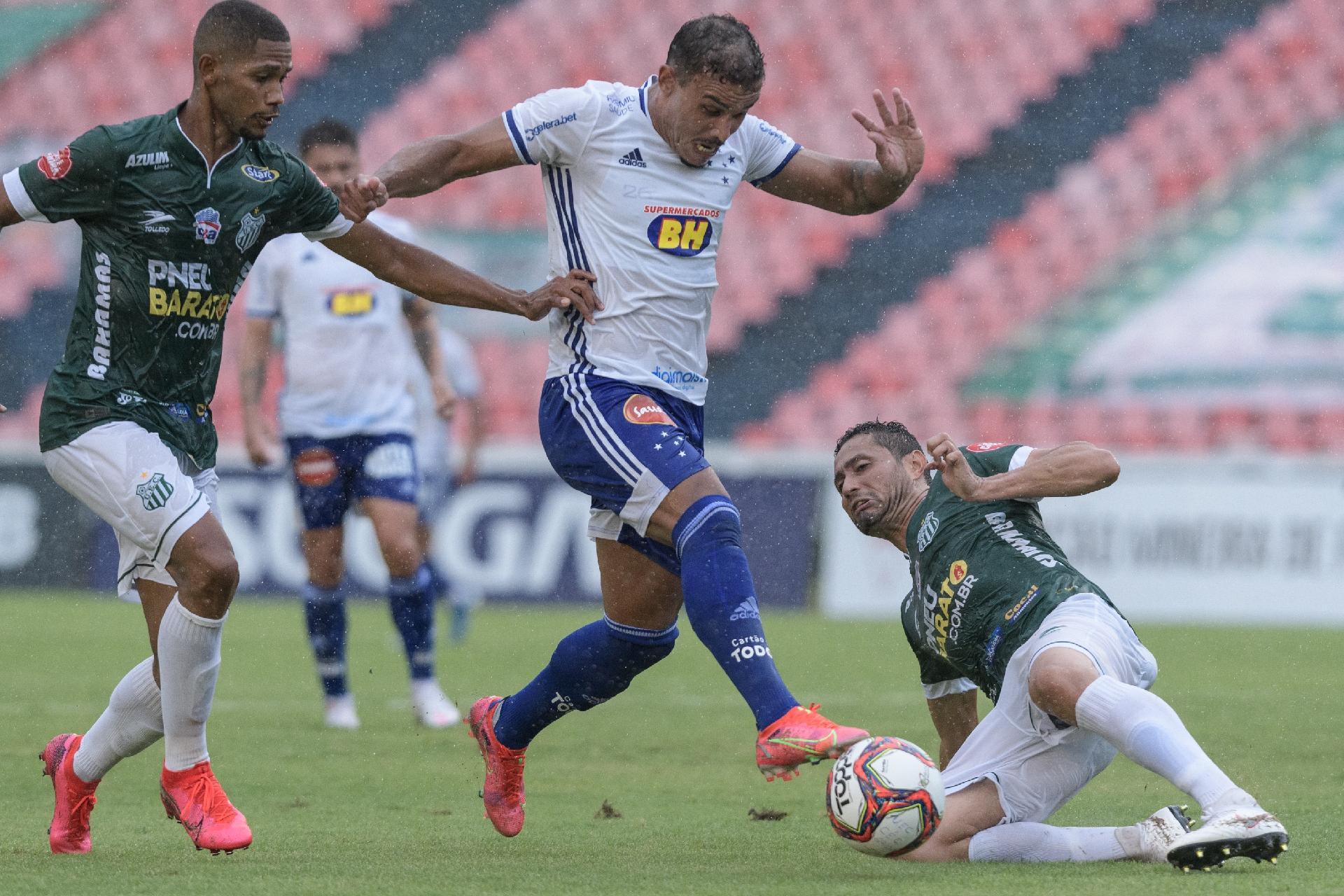 Cruzeiro Arranca Empate Com Uberlandia Na Estreia Pelo Campeonato Mineiro 27 02 2021 Uol Esporte