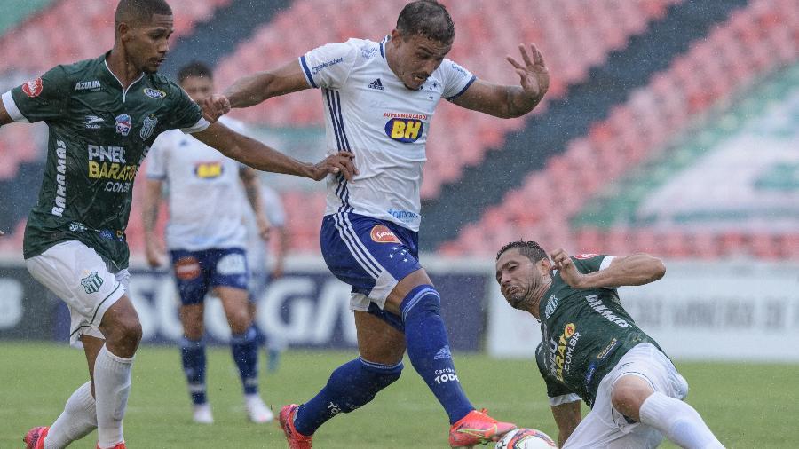 Cruzeiro saiu atrás, mas arrancou o empate já nos acréscimos da partida - Gustavo Aleixo/Cruzeiro